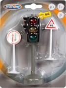 SpeedZ Verkehrsampel mit Verkehrszeichen, 135x182 mm, ab 3 Jahren