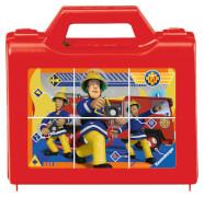 Ravensburger 07437 Puzzle: Feuerwehrmann Sam, Sam der tapfere Feuerwehrmann 6 Teile