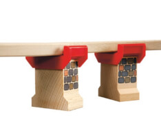 BRIO 63325400 Brückenfundament (2 Stück)