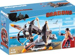 Playmobil 9249 Dragons Eret mit 4-Schuss-Feuer-Balliste