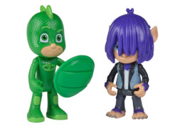 Simba PJMASKS Figuren Set Gecko+Kevin