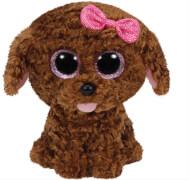 Ty Maddie Buddy-Hund mit Schleife, ca. 24 cm