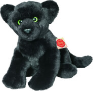 Teddy Hermann Panther liegend, ca. 32 cm