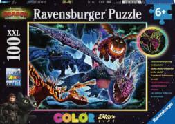 Ravensburger 137107 Puzzle Leuchtende Dragons 200 Teile XXL