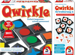 Schmidt Spiiele Qwirkle Grundspiel plus Erweiterung 2
