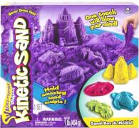 Spin Master Kinetic Sand Box Set lila 454 g inklusive Zubehör