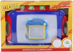 Creathek Magnet Maltafel 2 in 1 mit 4 Stempeln, ca. 45,9x33x4,6 cm, ab 3 Jahren