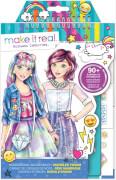 Mode Skizzenbuch Digitaler Traum