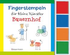 Fingerstempeln Bauernhof-Set 06/2015