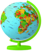 Tessloff WAS IST WAS junior Columbus Globus Reise um die Erde, Set mit diversen Artikeln,Globus, ab 5 Jahren