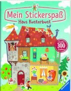 Ravensburger 55743 Mein Stickerspaß: Haus Kunterbunt - H19