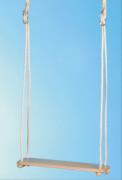 Brettschaukel Holz gerade ca. 48 x 15 cm