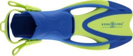 Flosse Zinger junior, Größe M, bright green/light blue