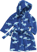 Playshoes Fleece-Bademantel Hai, Gr. 98/104