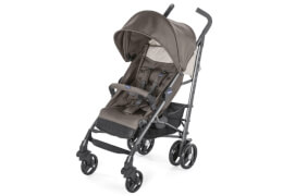 Chicco Sportwagen Lite Way mit faltbarem Frontbügel Dove Grey